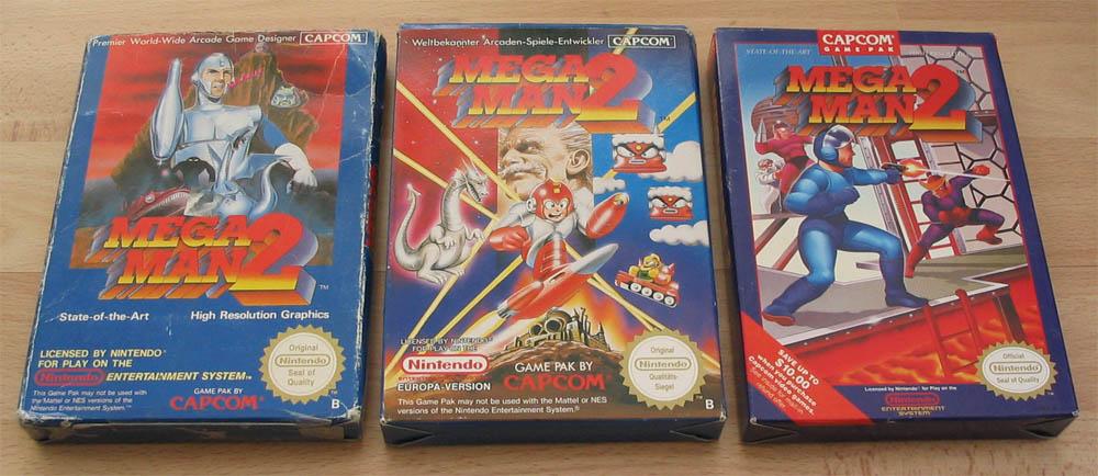 Megaman 2 boxes