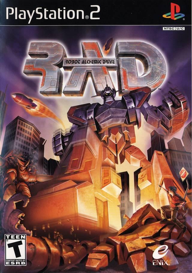 R A D: Robot Alchemic Drive Review (PS2)   Satoshi Matrix's Blog