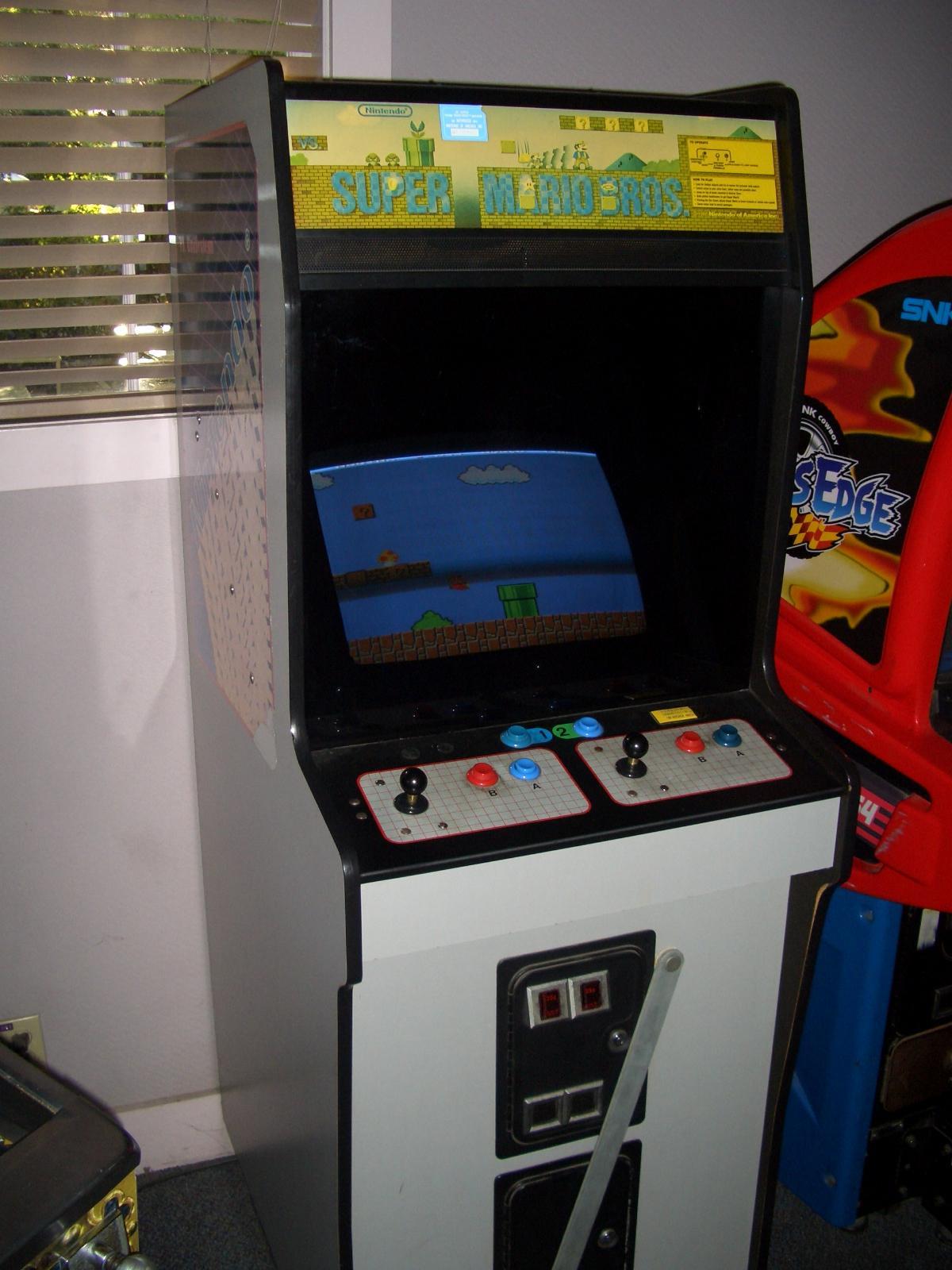 mario arcade machine