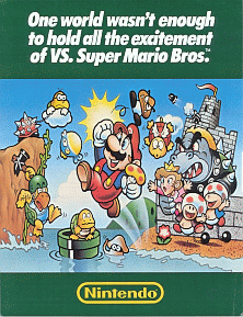 Vs Super Mario Bros Review Nes Satoshi Matrix S Blog