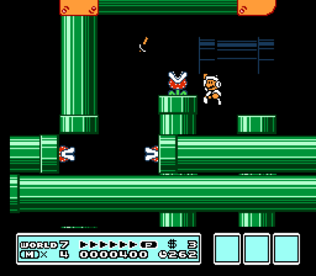 Awesome levels are all over SMB3