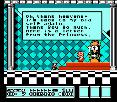 Mario has to save the kings, THEN the princess!