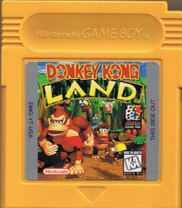 DMG Donkey Kong Land Cartridge